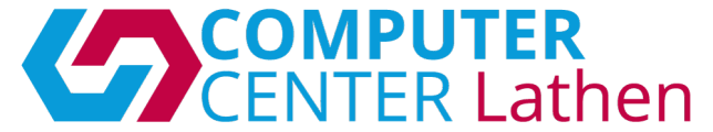 Computer Center Lathen Logo